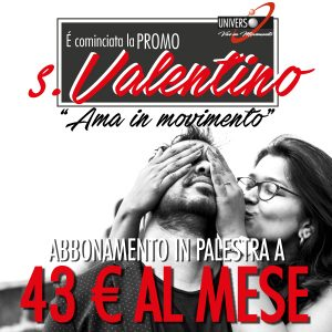 Promo San Valentino – Ama in movimento