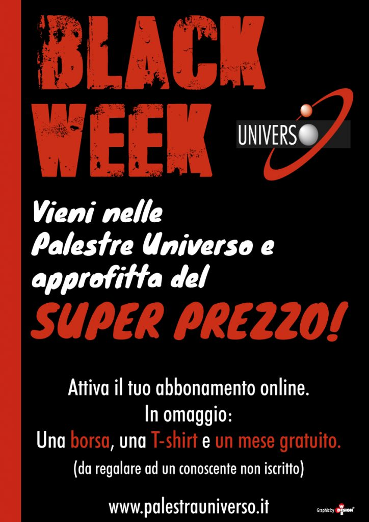 Black Week Palestra Universo